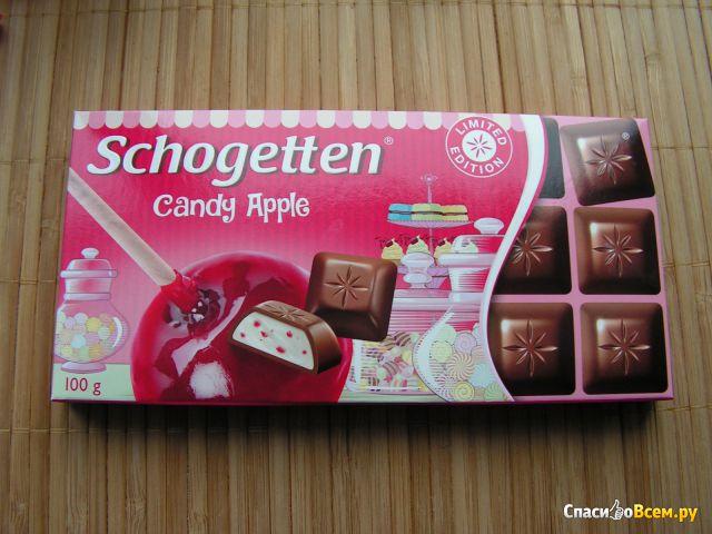 "Шоколад ""Trumpf"" Schogetten Candy Apple фото"