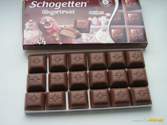 "Шоколад ""Trumpf"" Schogetten Gingerbread фото"