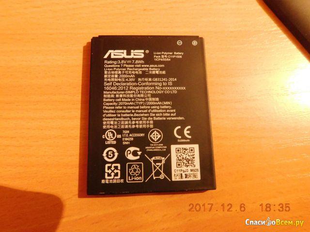 Смартфон Asus Zenfone Go фото