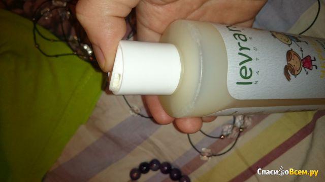 Гель для душа 2 в 1 с Чередой Levrana детский на растительных маслах фото