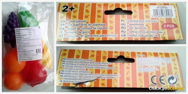 Игровой набор Еда-продукты 8 pcs Mountains China фото