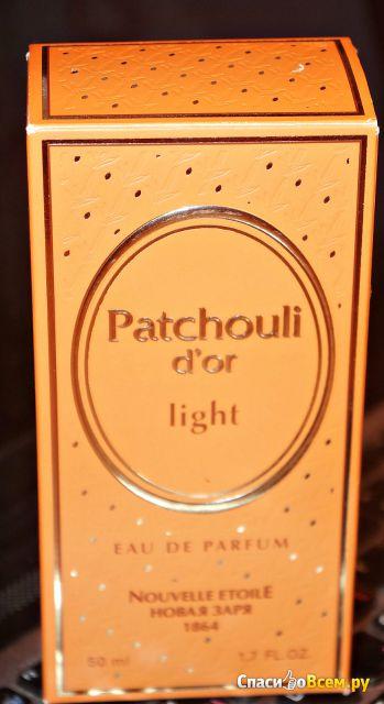 Парфюмерная вода Новая заря Patchouli d'or Light фото
