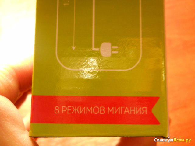 Электрогирлянда с микролампами Home Storia BW-XLT008 фото