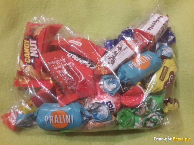 """Подарочный набор конфет Roshen """"Кондитерская на колесах"""" №4 фото"""