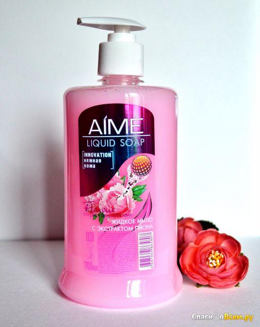 Жидкое мыло Aime с экстрактом пиона фото