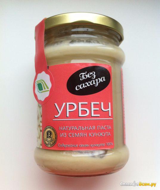 """Натуральная паста из семян кунжута """"Урбеч"""" Биопродукты фото"""