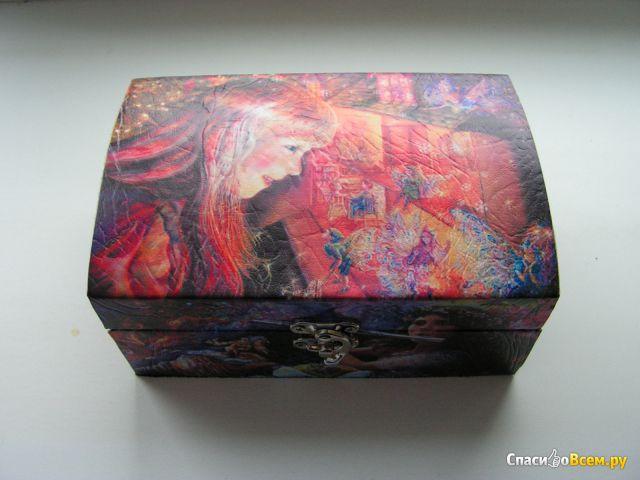 """Новогодний подарок Руслада """"Новогоднее волшебство"""" (набор кондитерских изделий) фото"""