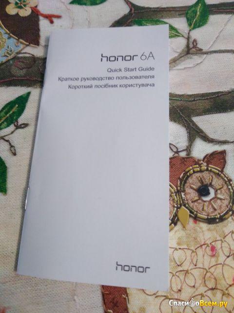 Смартфон Huawei Honor 6A фото