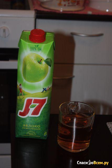 Сок J-7 Яблоко осветлённое фото