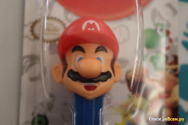 "Игрушка PEZ  с конфетами 1+2 ""Марио"" фото"