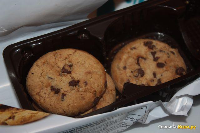 Печенье X-tra Chocolate chip cookies фото