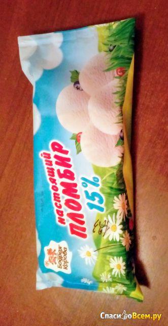 Мороженое Настоящий пломбир 15% Бодрая Корова фото