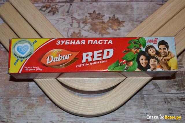 Зубная паста Dabur Red фото