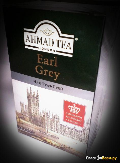 Чай Ahmad Tea Earl Grey фото