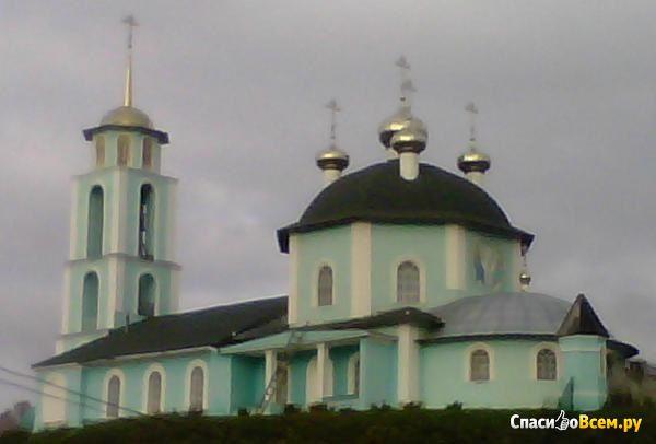 Старинный храм село Кантаурово (Нижегородская область) фото