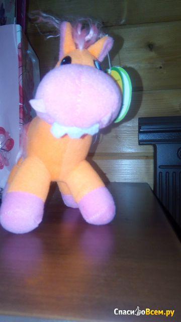 Игрушка мягконабивная Globe Toys Лошадь арт. YSL2642 фото