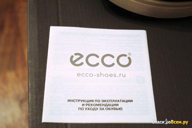 Полусапоги женские зимние Ecco Noyce фото