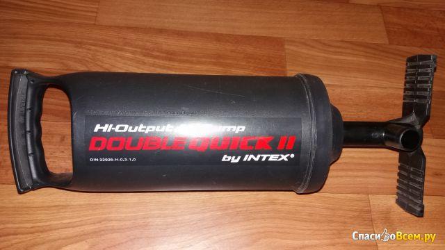 Насос воздушный ручной Intex Double Quick I фото
