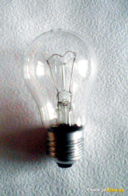 """Лампа накаливания """"Лисма"""" Б230-95-4 Е27 фото"""