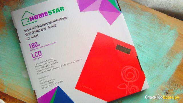 "Напольные электронные весы ""HomeStar"" HS-6001C фото"