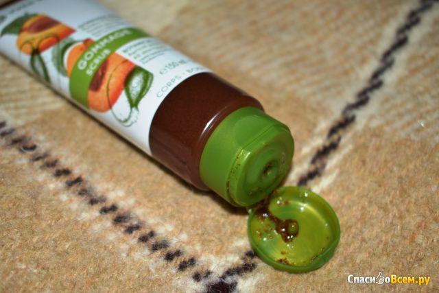 Скраб для тела Yves Rocher Растительный гоммаж Абрикосовый фото
