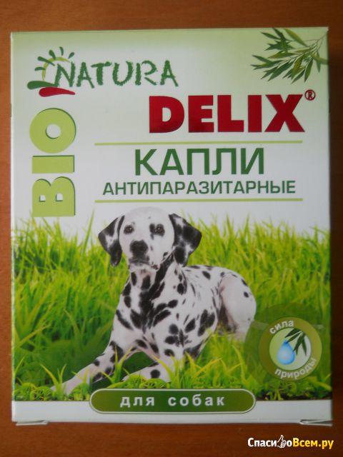 Капли антипаразитарные для собак Natura Delix Bio фото