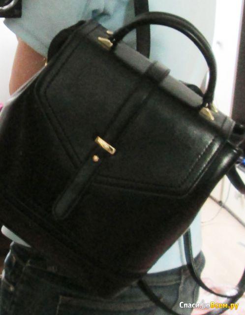 Рюкзак женский из кожи Alessio Nesca Арт. 10604020 фото