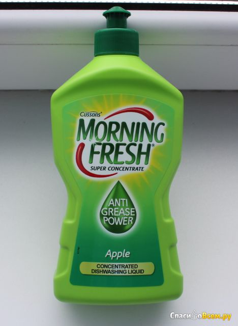 Средство для мытья посуды Morning Fresh Apple Crease Power фото
