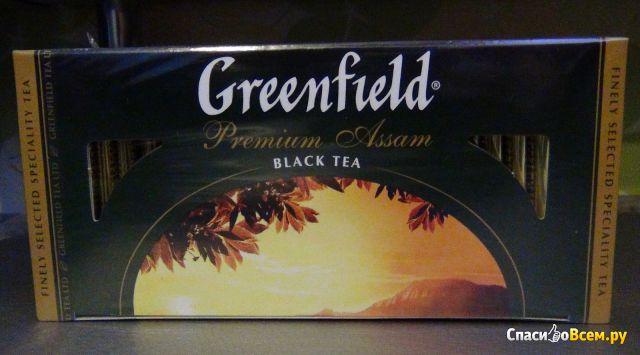 Подарочный набор чай Greenfield с чайной парой фото