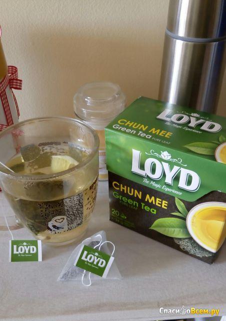 Зеленый чай Loyd Chun Mee фото
