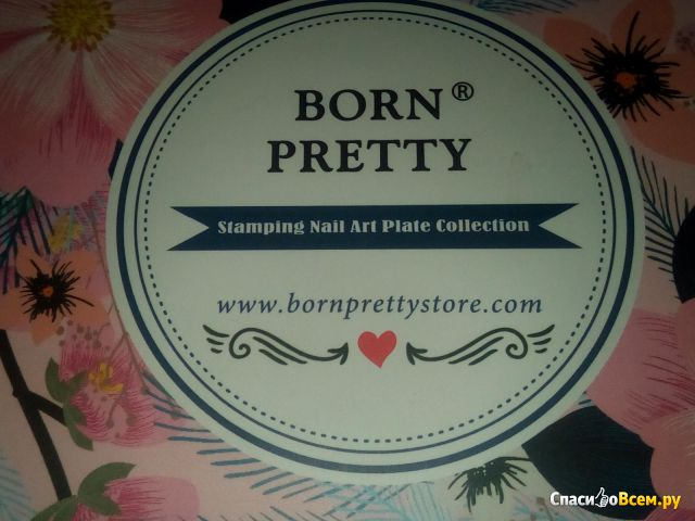 Пластины для стемпинга Born Pretty
