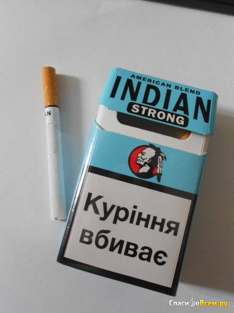 Сигареты  Indian Strong JSC Tbilisi Tobacco фото