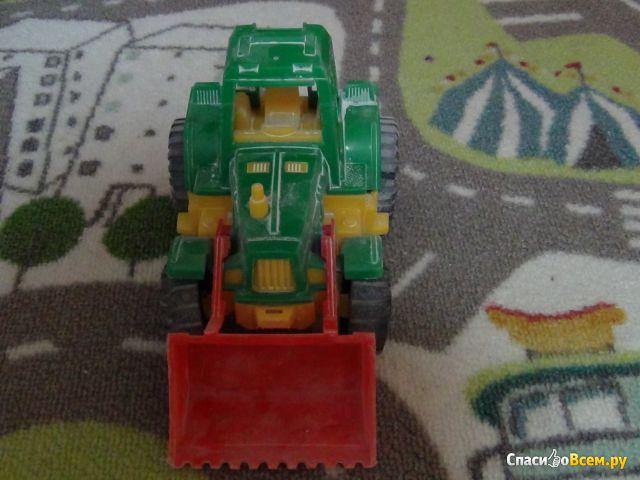 Трактор «Ижора» с грейдером НордПласт Арт. 151 фото