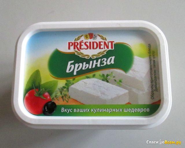 Брынза President 45 % фото