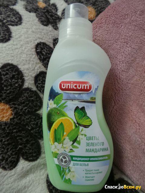 Кондиционер-ополаскиватель для белья Unicum  Цветы зеленого мандарина фото