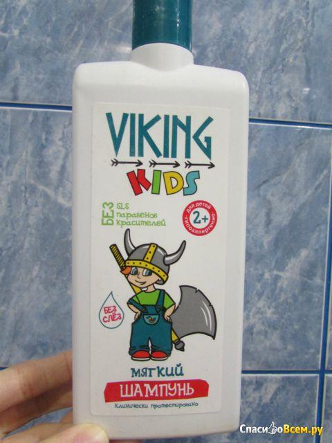 Детский шампунь Viking kids мягкий 2+ фото