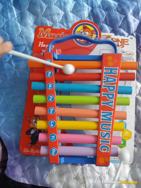 Детский музыкальный инструмент Металлофон, Huge Union Limited, арт. 5200-30 фото