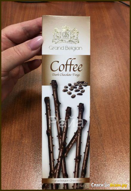 """Хворост GBS """"Dark Chocolate Twigs Coffee"""" фото"""
