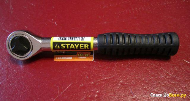 Трещотка для торцевых головок Stayer Master 2778-1/4 фото
