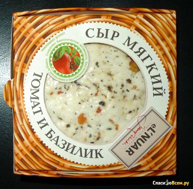 Сыр мягкий с томатом и базиликом Реамол eL'NUAR фото