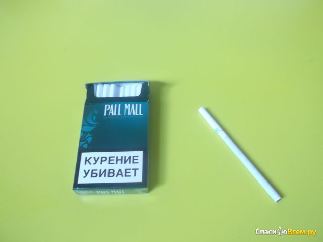 Сигареты Pall Mall Superslims Menthol фото