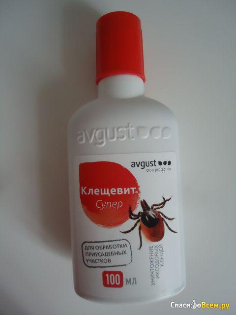 "Инсектоакарицидное средство ""Клещевит супер"" Avgust фото"