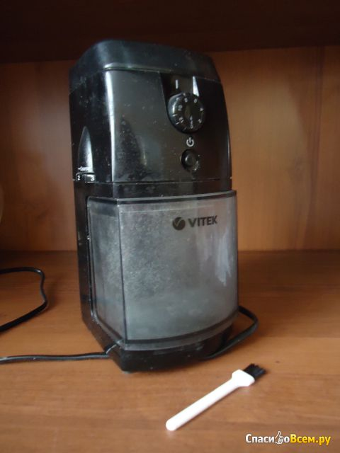 Кофемолка Vitek VT-1548 BK фото