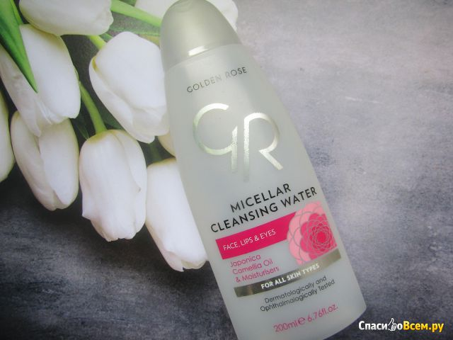 Мицеллярная вода Golden Rose Micellar Cleansing Water фото