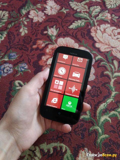 Смартфон Nokia Lumia 510 фото