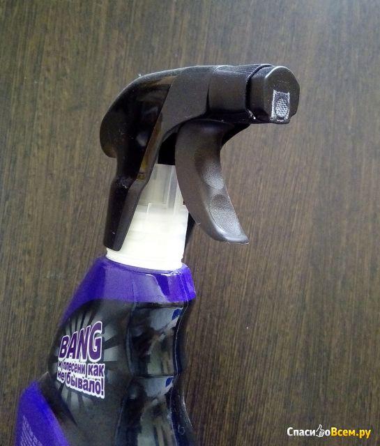 Чистящее средство Cillit Bang удаление чёрной плесени фото