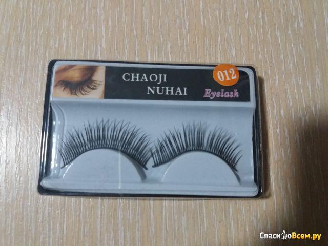 Накладные ресницы 3D, Chaoji nuhai, 012 фото
