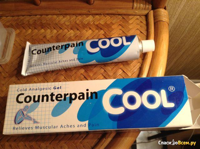 Охлаждающий гель Cold Analgesic Gel Counterpain Cool Taisho Pharmaceutical Co.,Ltd. фото