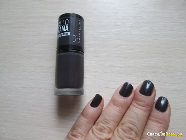 Лак для ногтей Maybelline NY Colorama 60 second оттенок № 165 фото