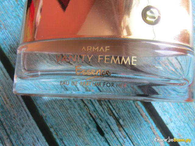 Парфюмерная вода Armaf Vanity Femme Essence фото